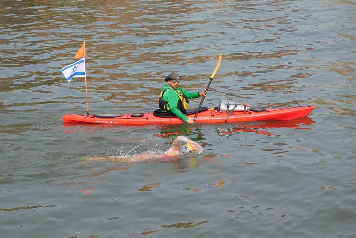 כשאהבה למים חזקה יותר מכל: יומן מסע של אבישג קופמן טורק