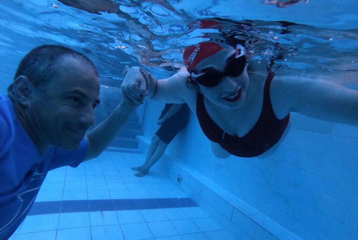 ענת לב-אדלר קופצת למים: טור ראשון